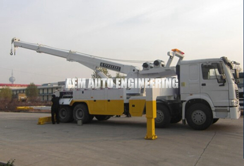 30 Ton Rotation Tow Truck Road Recovery Wrecker