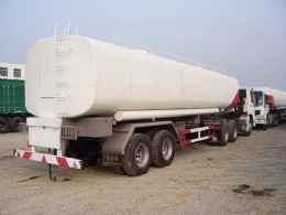 Fuel Oil Tank Truck and Trailer