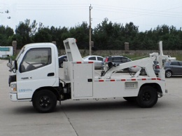 3 ton light duty tow truck for towing car