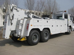 18 ton Integrated Tow Truck Road Wrecker