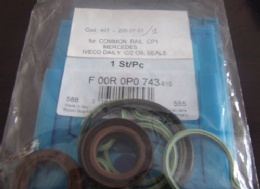 F 00R 0P0 743-810(KIT-226.07.01 for COMMON RAIL CP1 MERCEDES IVECO DAILY C/2 OIL SEALS)