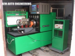 EDC in line pump test bench
