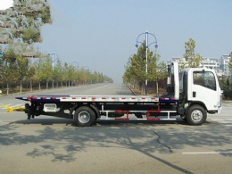 5 ton Car Carrier Flatbed Wrecker Tow Truck