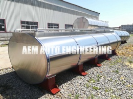 Aluminium Alloy Tank Vehicle for transpot milk and edible oil